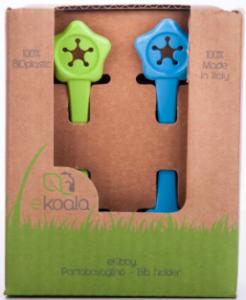 EKOALA – Set 2 Portabavaglino in Bio Plastica Verde e Azzurro