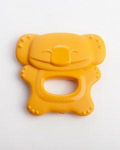 EKOALA – Massaggiagengive in Bioplastica 100% Biodegradabile (Arancione)