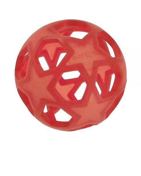 HEVEA – Starball Palla in Gomma Naturale (3m+) Rossa