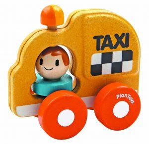 PLAN TOYS – Macchinina Taxi (12m+)