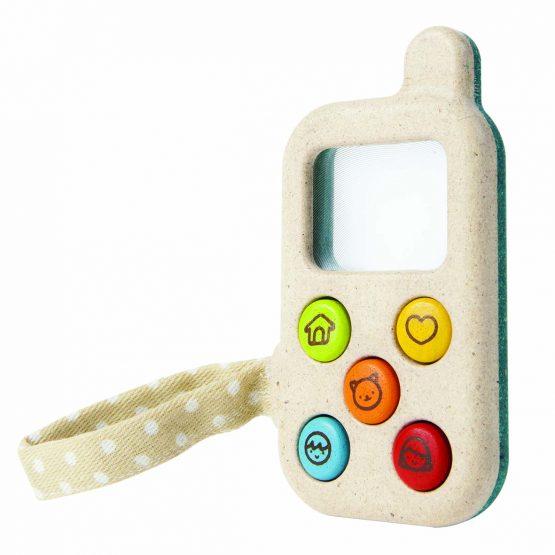 PLAN TOYS – Telefono giocattolo (12m+)