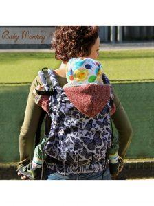 BABYMONKEY – Marsupio Regolo Butterfly Reverse