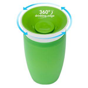 MUNCHKIN – Bicchiere Miracle 360 Verde 12+