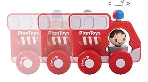 plan toys camion pompieri