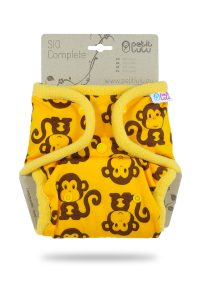 PETIT LULU' – Pannolino Lavabile SIO Scimmiette