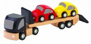 PLAN TOYS – Camion Trasporto Auto (3+)