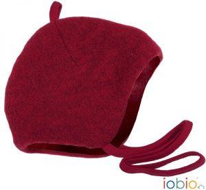 POPOLINI – Cappello Pile Di Lana Rosso