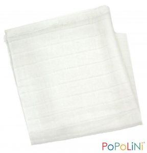 POPOLINI – Mussole in Cotone Bianche
