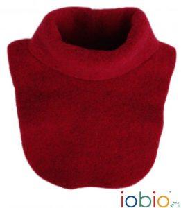 POPOLINI – Scaldacollo in Pile di Lana Rosso