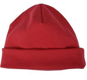 POPOLINI – Cuffietta in Caldo Cotone Rosso