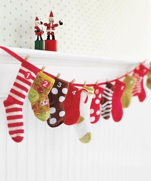 Calendario Avvento Pinterest.Il Calendario Dell Avvento Fai Da Te Il Natale Si Avvicina