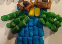 lavoretti creativi con mattoncini amido di patate