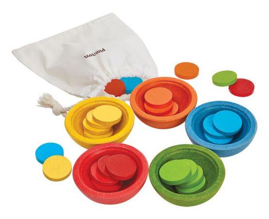 PLAN TOYS – Monete Montessori (2+)
