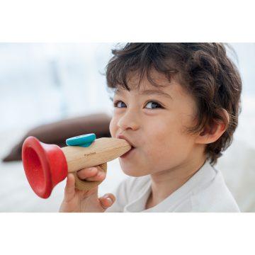 strumenti musicali per i bambini, plan toys kazoo