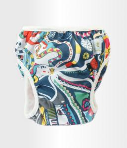 BLÜMCHEN – Costume Lavabile Contenitivo Sealife (Taglia L)