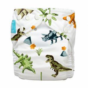 CHARLIE BANANA- Pannolino Lavabile Dinosauri
