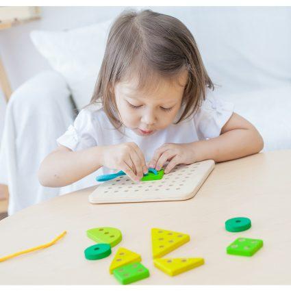 plan-toys lavagna forata giocattoli in legno plantgiocattoli in legno plant