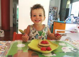 ricetta dei pancake autosvezzamento