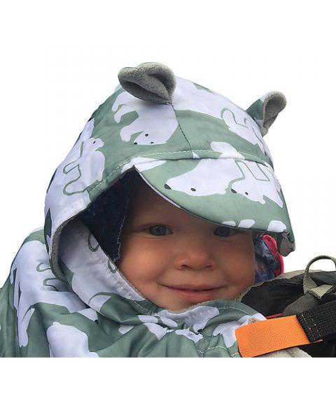 bundlebean - coperta da viaggio impermeabile con capuccio2