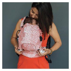 NEKO – Marsupio Ergonomico Regolabile Baby Lokum Blush