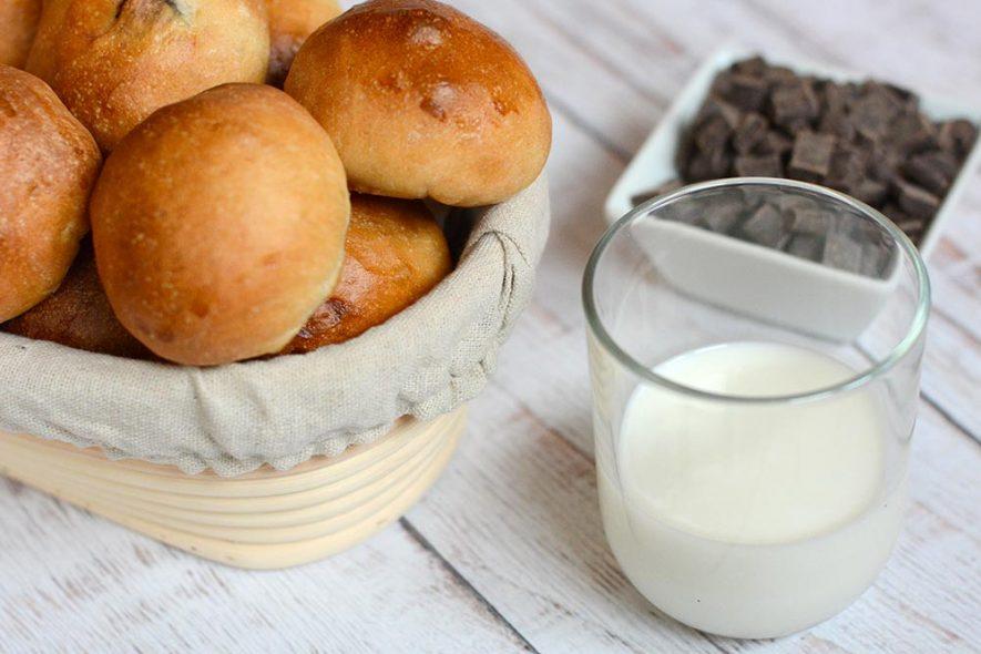 ricetta panini al latte senza burro, vegana, con il bimby