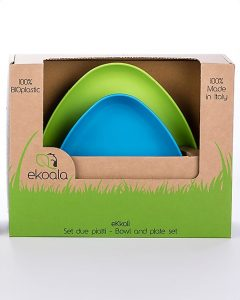 EKOALA – Set Piatti Biodegradabili (Verde)
