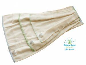 BLÜMCHEN – Prefold Twill Cotone Bio Taglia L