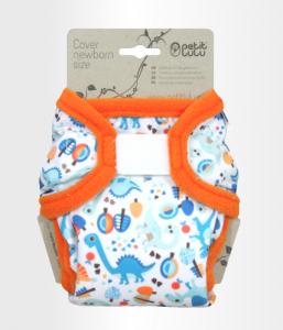 PETIT LULU' – Cover Newborn Dino Velcro