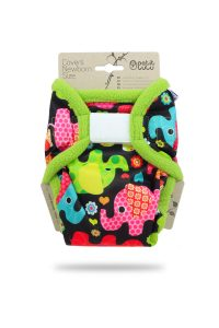 PETIT LULU' – Cover Newborn Elefanti Velcro