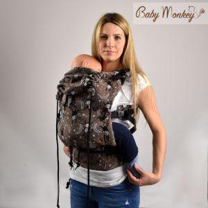 BABYMONKEY – Marsupio Regolo LittleMonkey Marrone