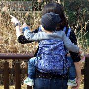 calavera marsupio ergonomico babymonkey regolabile