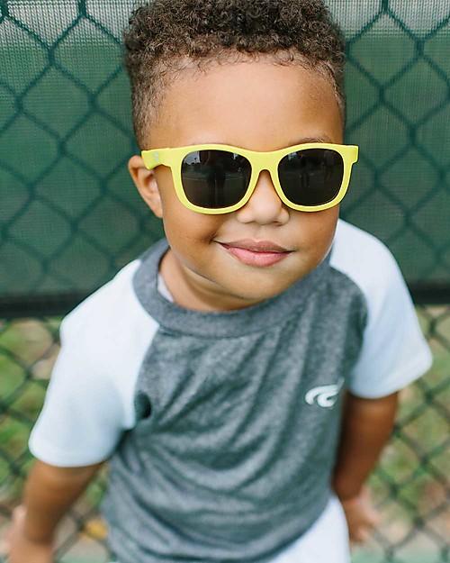 babiators occhiali da sole protezione uv indistruttibili colore giallo