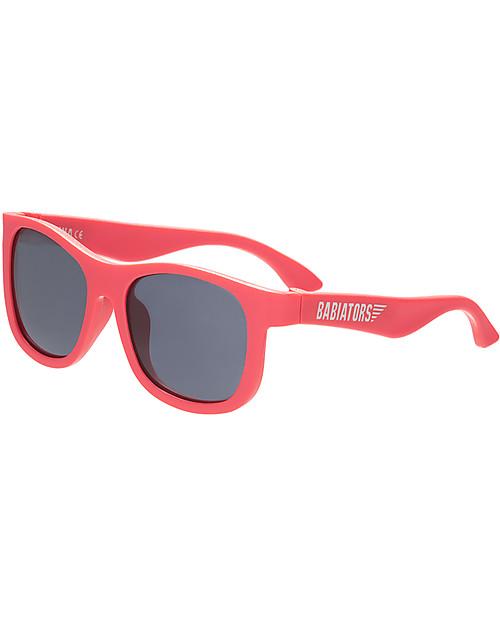 babiators occhiali da sole protezione uv indistruttibili colore rosso