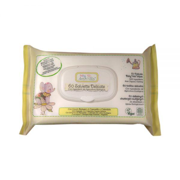 BABY ANTHYLLIS – Salviette Umide Biodegradabili