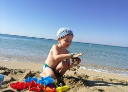 scegliere la giusta crema solare, protezione bambini