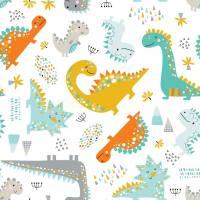 BLÜMCHEN – Pannolino Lavabile All-in-2 Dino (Snap)