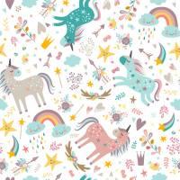 BLÜMCHEN – Pannolino Lavabile All-in-2 Unicorni (Snap)