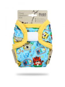 PETIT LULU' – Cover Newborn School Jungle Velcro