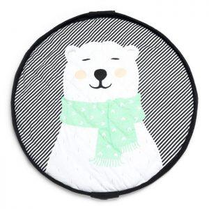 PLAY&GO –  Sacco PortaGiochi Soft Orso Polare