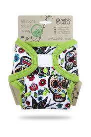 PETIT LULU' – Aio Pocket Teschi (Velcro)