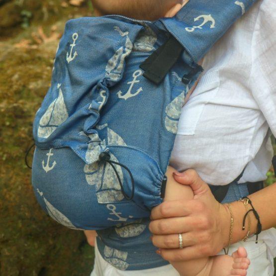 NEKO – Marsupio Ergonomico Regolabile Toddler Derya Deep