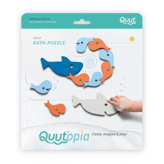 QUUT – Puzzle da Bagnetto Squali