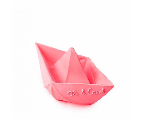 OLI&CAROL – Barchetta Origami Rosa